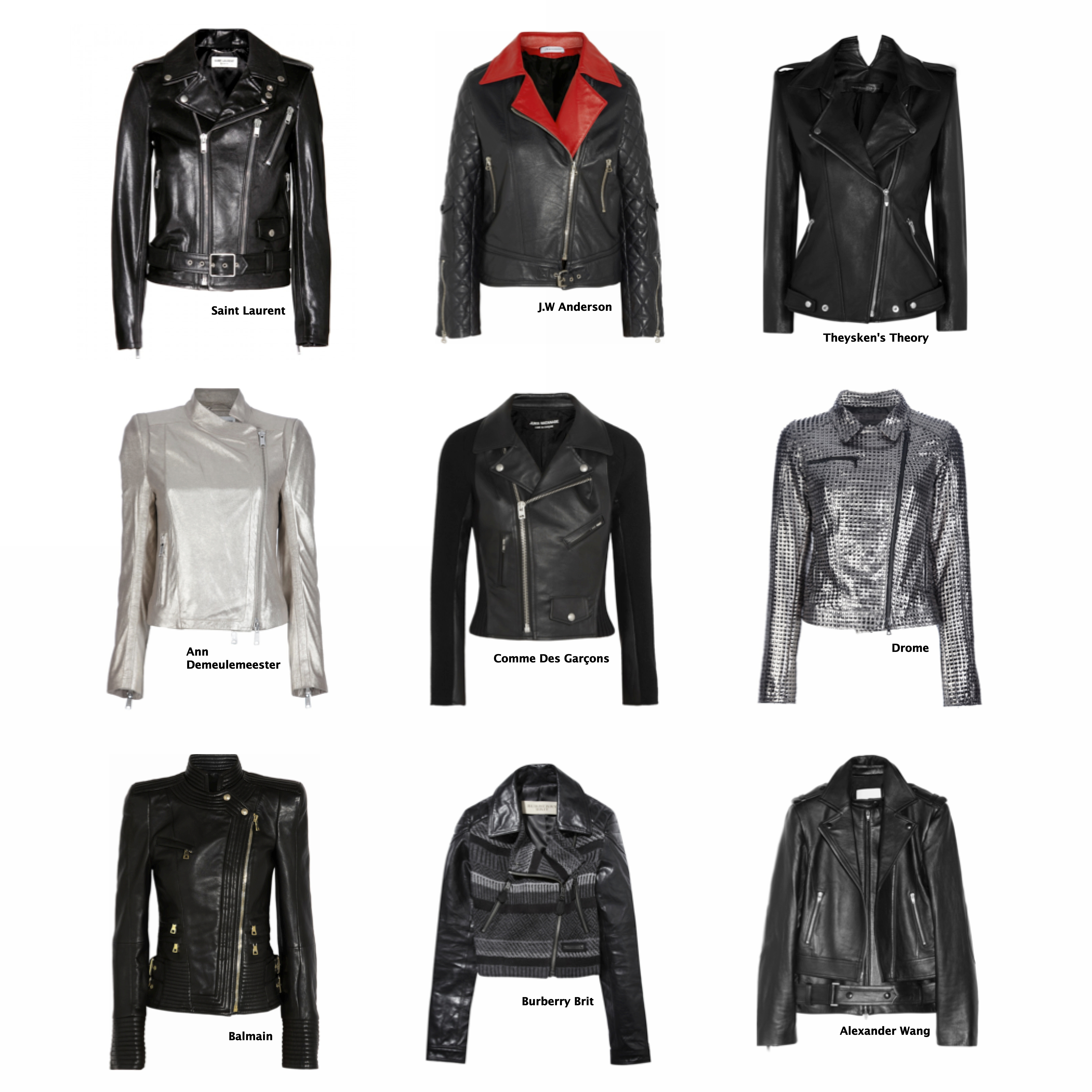"""9fccf048c6d FALL TREND REPORT : BIKER STYLE – PART 1 """"THE JACKET""""   THE ..."""