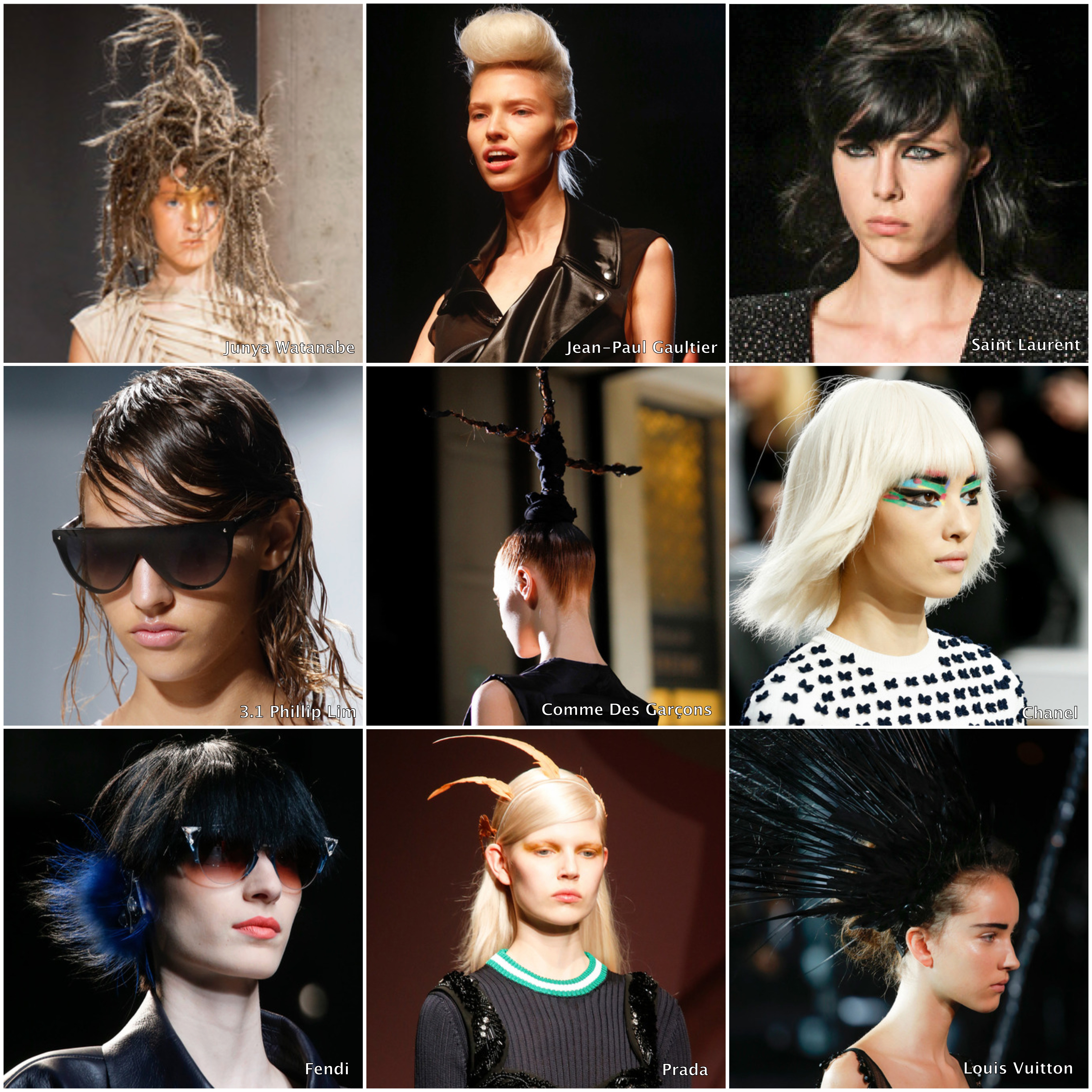 Wondrous Beauty Report Spring 2014 Best Hairstyles The Statement Box Short Hairstyles For Black Women Fulllsitofus