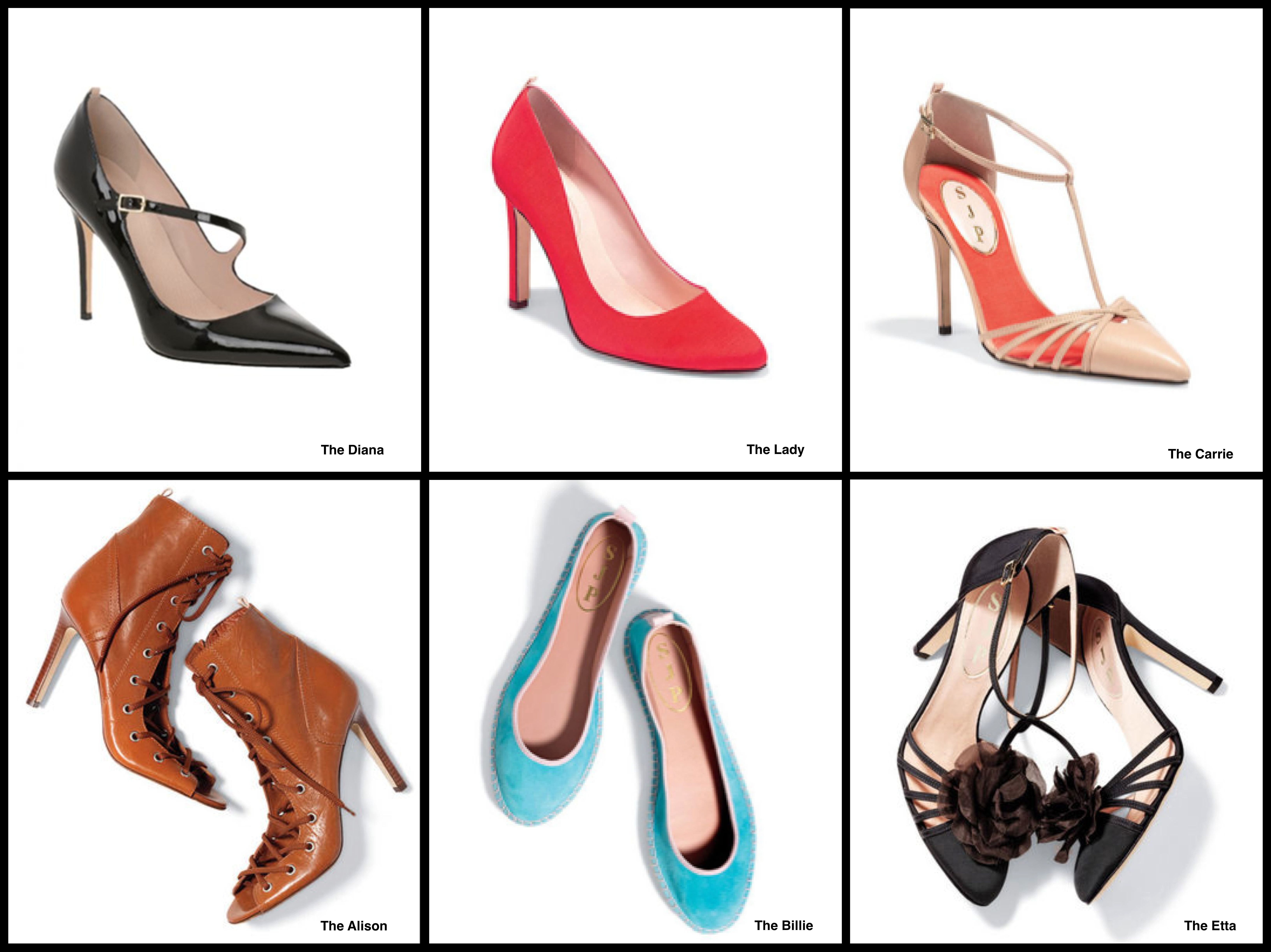 jessica parker buty line clearance