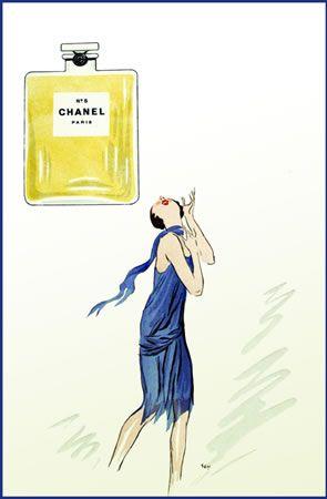Chanel No 5 c. 1920