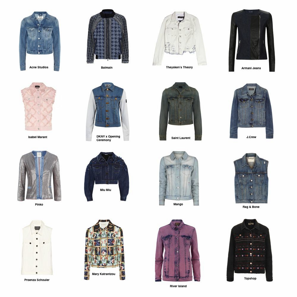 new style 1c055 427e1 SPRING TREND REPORT: THE COOLEST DENIM JACKETS | THE ...